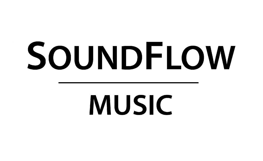 SoundFlow Music Logo Black